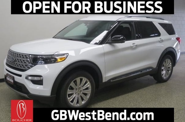 Gordie Boucher Ford >> 2020 Ford Explorer Limited